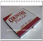 APP GRADE pizza box(printing customers' logo, high quality)