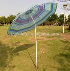 purple small beach umbrella with tilt