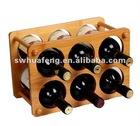 2013 Eco-friendly natural bamboo refrigerator wine holder
