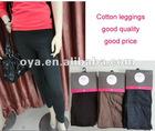 colorful cotton leggings for women P1201051