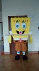 Polyfoam,soft plush spongebob mascot costumes