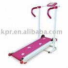 Home use foldble manual treadmill