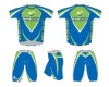 Pro Active Wear Cycling Jersey with Cycling Shorts Cool Dry CWTS03