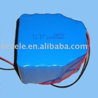 11.1V Lithium battery pack with capacity 24000mAh