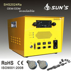 20W Solar Power Box With Radio+USB+SD Card