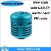 2012 hottest sale music mini vibration speaker
