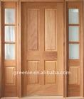 Exterior Pre-hung Wooden Door