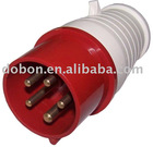 CEE Industrial plug and socket