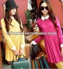 zc09028 Wholesale Korean Style Fashion Cute Latest Dress Designs