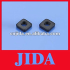 M2.5 fine thread carbon steel black square nut