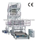 SJ-FM1800 IBC system co-extrustion Three layer film blowing machine