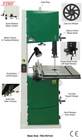 Wood-cutting Bandsaw