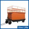 4 wheel electric scissor lift table