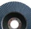 Zirconia grinding radial flap disc