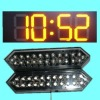 Outdoor waterproof led 7 segment display