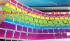 for Macbook pro rainbow keyboard cover color