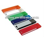factory Plastic material usb key from 128MB to 32GB
