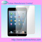 Hot sale For ipad mini screen protector with high quality PET material