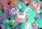 60G colorful nine section hihg quality bath ball