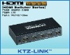 hdmi production switcher with remote control 4*1 support 3D 1.3v