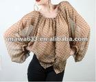 The latest lasies fashion unformal blouses top fashion
