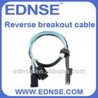 EDNSE 4*SATA(6Gbps) into mini-sas(SFF-8087) Reverse breakout cable