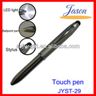 LED touch light pen and stylus pen