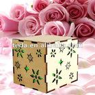 Laser wood box for wedding favor