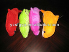 lovely plush solid color fish toy