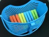 normal traditional style pp plastic peg basket
