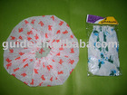 printed bath cap / shower cap