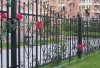 fence chain link fence garden fence