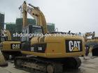 Used Crawler Excavator CAT 320D, cat excavators in Shanghai