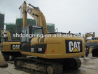 Used Crawler Excavator CAT 320D, cat excavators in Shanghai