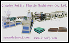 PE/PP Plastic Building Template Production Line