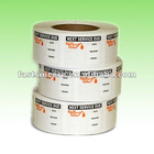PET vivid printing self adhesive tape in roll