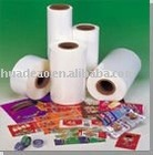 PVC shrink film for packaging and printing