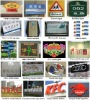 Sign board samples/Metal nameplate/Metal logo/Signage board