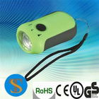 0.5W super white LED dynamo flashlight
