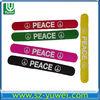 2013 craze and amazing cheap custom silicone slap bracelets