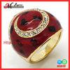 R5818 Jingmei 18k Real Gold Garnet Rings 2013