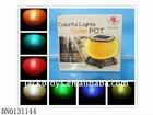 Colorful light,Solar Toy,Solar pot