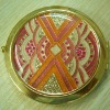 gold cosmetic box