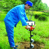 Gasoline ground drill/earth auger /digging holes