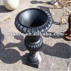 cast iron ornamental garden pots