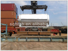 horizontal rotary scrap rubber pyrolysis plant