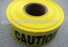 Yellow and Black Reflective Warning Adhesive Tape