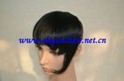 indian remy hair dark color natural human hair fringe
