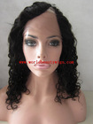 New arrival high quality left U/V part 14 inch indian full lace wig