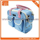 fashion recycle outdoor pet dog cat carrier pet travel tote bag
